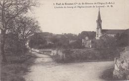 CPA Dept 37 SAINT ETIENNE DE CHIGNY Pont De Bresnes L'entrée Du Bourg Et L'eglise Route De Luynes - Other Municipalities