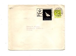 LAB462 - DANIMARCA , Lettera Per L'Italia Del 16/12/1955 - Danemark