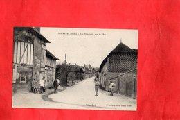 F0102 - SOMMEVAL - 10 - Rue Principale - Vue De L'Est - France