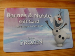Barnes & Noble Gift Card USA - Disney, Frozen - Cartes Cadeaux