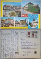 BRNO - Ceskoslovensko - CZECH REPUBLIK - Mahenovo Divadlo - Spilberk - Namesti 25 Unora - Posted To DDR  Vg - Repubblica Ceca