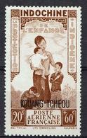 "Kouang-Tcheou, Guangzhouwan (French China), ""Childhood"", 20c. + 60c., 1942, MNG VF  Airmail - Unused Stamps"
