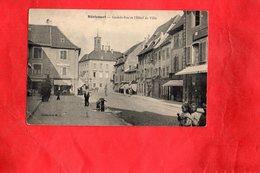 F0102 - Héricourt - 70 - Grande Rue Et L'Hôtel De Ville - Autres Communes