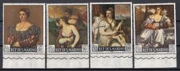 San Marino 1966 Blf. 725-728  Quadro Dipinto Tiziano Vecellio Titian Nuovo MNH Paintings Tableaux Full Set - Nus