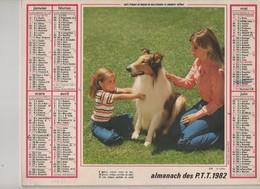 Almanach Des P.T.T. 1982 - Calendriers