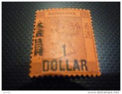 TIMBRES.N°28595.HONG KONG 1891.1 Dollar - Neufs