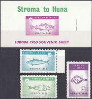 STROMA TO HUMA - 1963 - Lotto Di 1 Foglietto E 3 Valori Nuovi MNH. - Local Issues