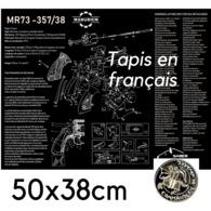 EN STOCK ! TAPIS DE DEMONTAGE REVOLVER MR73 EN FRANCAIS ! Fin De L'offre Le 31 Mars !!! - Militaria