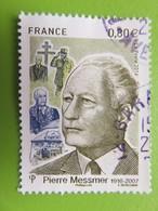 Timbre France YT 5035 - Centenaire Naissance Pierre Messmer - Homme Politique Français - Portrait - 2016 - Frankrijk