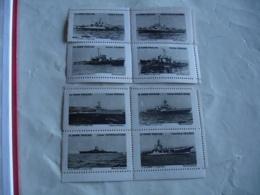 Erinnophilie  Lot 2 Bloc De 4 Theme Marine Bateaux Militaires  Vignette Timbre - Non Classés