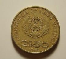 Cape Verde 2 1/2 Escudos 1982 - Cape Verde
