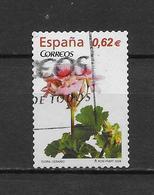 LOTE 1826  ///   (C020) ESPAÑA  2009 - Fleur : Géranium ( Mi 4428 - YT 4133 ) - 2001-10 Usati