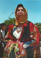"""2418 """" COSTUMI SARDI - ORGOZOLO """" CARTOLINA POSTALE ORIGINALE NON SPEDITA - Costumi"""