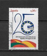 LOTE 1826  ///   (C020) ESPAÑA  2010 - 25 Ans D'adhésion à La CEE ( Mi 4516 - YT 4221 ) - 1931-Hoy: 2ª República - ... Juan Carlos I