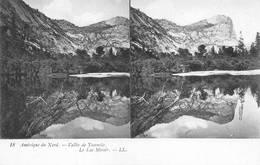 Yosemite Carte Stereo Le Lac Miroir - Yosemite