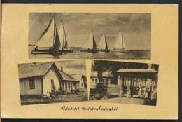 °°° 13222 - HUNGARY - UDVOZLET BALATONBERENYBOL - 1957 With Stamps °°° - Ungheria