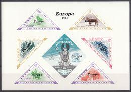 LUNDY - Foglietto Non Dentellato Nuovo MNH - Europa 1961. - Local Issues