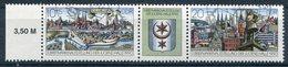 DDR Michel-Nr. 3338-3339 Dreierstreifen Gestempelt Tagesstempel - Gebraucht