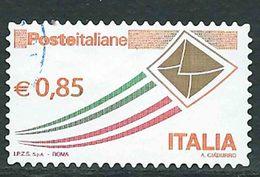 """Italia 2013; Posta Italiana € 0,85, Serie Ordinaria Detta """"busta Che Vola"""". - 6. 1946-.. Repubblica"""