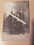 1917-1919 Soldats Us Army Doughboys 84th Infantry Division Jeunes Françaises Crest Calot  1 Cph Ww1 1WK 1914 1918 14-18 - War, Military