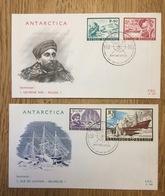 Belgium Belgique België 1966, FDC Antarctica MS Magga Dan Adrien De Gerlache - FDC