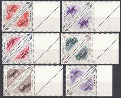 LUNDY - Serie Completa Di Coppie Di 6 Valori Nuovi MNH Con Margini Di Foglio - Europa 1961 - Local Issues