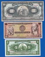 Pèrou  3  Billets - Pérou