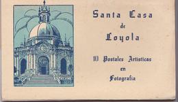 Carnet Complet 10 Postales Santa Casa De Loyola - Guipúzcoa (San Sebastián)