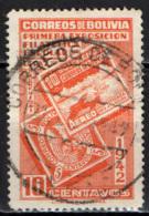 BOLIVIA - 1942 - ESPOSIZIONE FILATELICA A LA PAZ - USATO - Bolivia