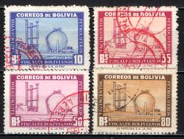 BOLIVIA - 1955 - RAFFINERIA DI PETROLIO - USATI - Bolivia