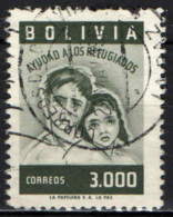 BOLIVIA - 1960 - BAMBINI RIFUGIATI - USATO - Bolivia