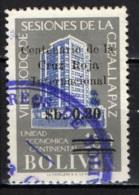 BOLIVIA - 1966 - CENTENARIO DELLA CROCE ROSSA INTERNAZIONALE - USATO - Bolivia