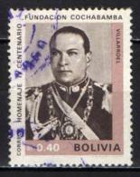 BOLIVIA - 1968 - PRESIDENTE GUALBERTO VILLAROEL - USATO - Bolivia