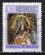 BOLIVIA - 1982 - MADONNA DI COPACABANA - USATO - Bolivia