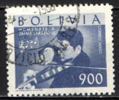 BOLIVIA - 1960 - JAIME LAIREDO - VIOLINISTA - USATO - Bolivia