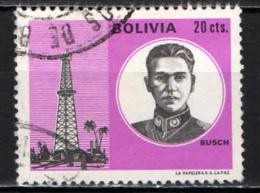 BOLIVIA - 1971 - PRESIDENTE GERMAN BUSCH - USATO - Bolivia