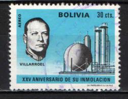 BOLIVIA - 1971 - PRESIDENTE GUALBERTO VILLARROEL - USATO - Bolivia