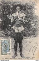 Congo Français . N° 51099 . Brazzaville . Type De La Sangha . Scarifiations .belle Affranchissement - Brazzaville