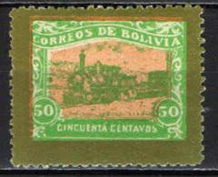 BOLIVIA - 1915 - FERROVIA DA GUIQUI A LA PAZ - MNH - Bolivia
