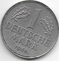 * 1 Mark  1958 J   Km 110 - [ 7] 1949-… : FRG - Fed. Rep. Germany