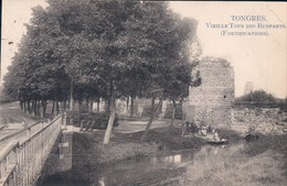 Tongeren Tongres Vieille Tour Des Remparts Fortifications - Tongeren