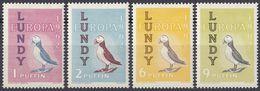 LUNDY - Serie Di 4 Valori Nuovi MNH - Europa 1962. - Local Issues