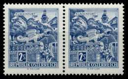 ÖSTERREICH 1968 Nr 1256y Postfrisch WAAGR PAAR X7D5CAE - 1945-.... 2ème République