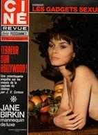 Ciné Revue Télé Programmes N°45 Anouk Aimee - Douglas Fairbanks Jr. - Anthony Quinn - Jane Birkin Mannequin De Luxe - Fernsehen