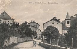 Drome : SAINT-MARTIN-en-VERCORS : Entrée Du Village - France