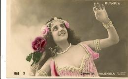 JUANITA VALENCIA - OLYMPIA  Chanteuse Danseuse Artiste Femme - Artisti