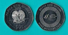 Papua New Guinea - 50 Toea 2018 - Papouasie-Nouvelle-Guinée