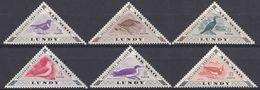 LUNDY - 1954 - Serie Di 6 Valori Nuovi MNH, Posta Aerea, Raffiguranti Uccelli. - Local Issues