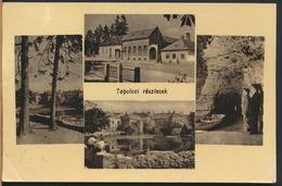 °°° 13231 - HUNGARY - TAPOLCAI RESZLETEK - 1957 With Stamps °°° - Ungheria