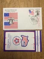 South Korea 1976, FDC America's Bicentennial, Including Folder - Korea (Zuid)